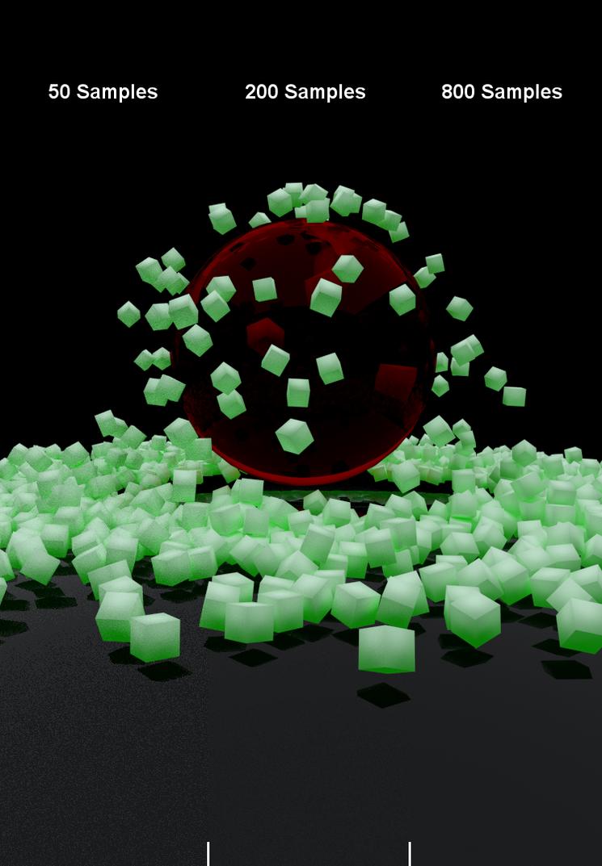 3D Sampling Test - Graininess/Noice by JKoho