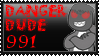 DANGER DUDE 991 FAN STAMP by Exo-Forost