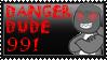 DANGER DUDE 991 FAN STAMP by Exo-Forost