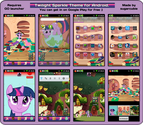 Twilight Sparkle Theme for Android