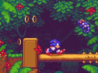 Sonic the hedgehog-Jungle zone
