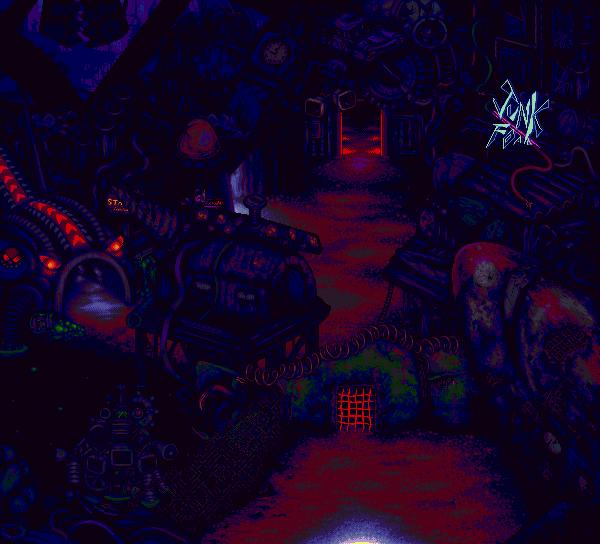 Robot graveyard by MarinaNT