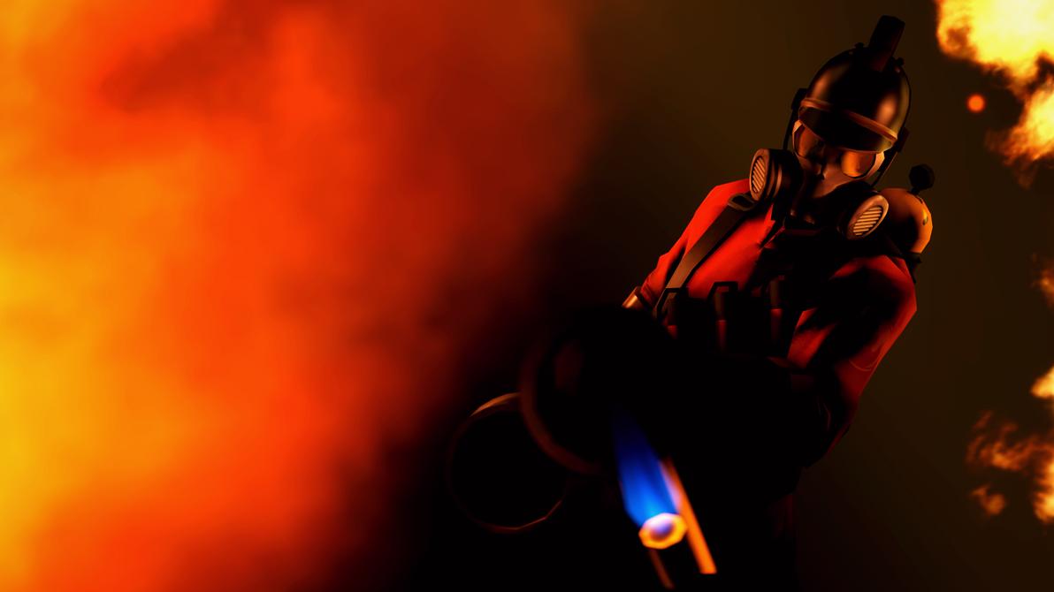 [SFM] Devouring Flames by Kisiliy