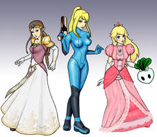 Girls of Brawl by thehotmageaeris