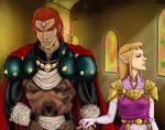 Zelda and Ganondorf Commission