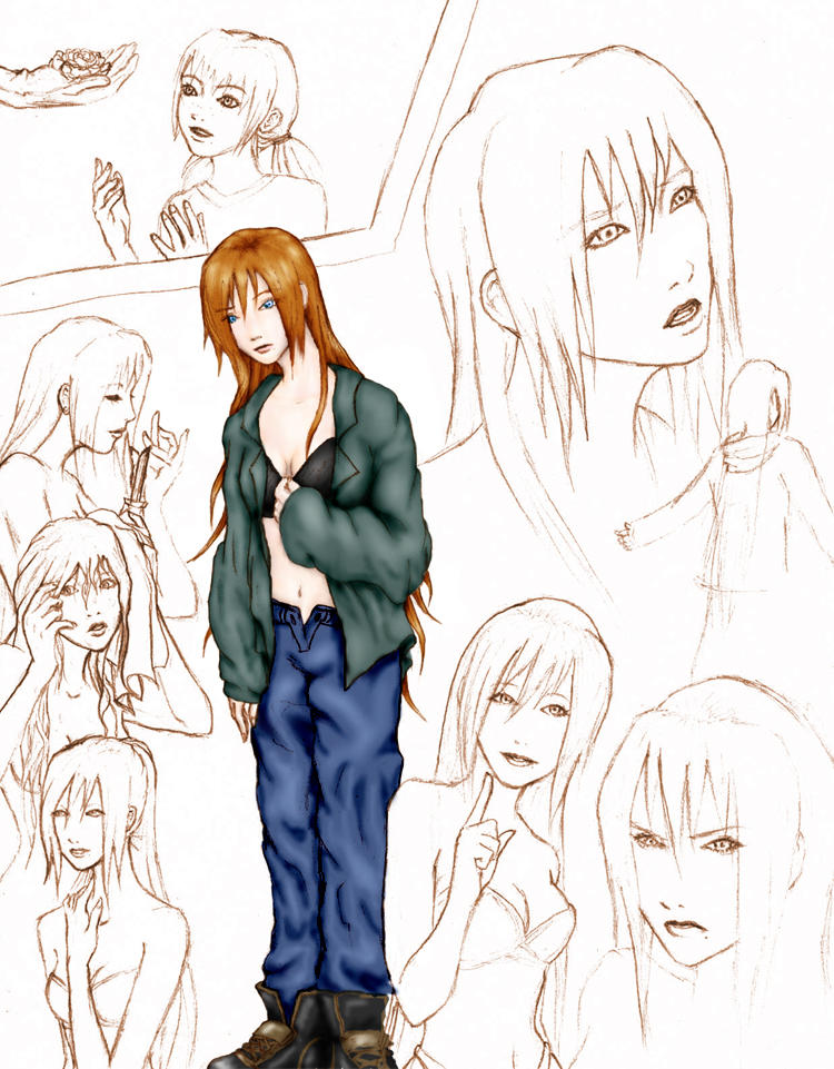 Character Design For Comics : Character design for comic a by thehotmageaeris on deviantart