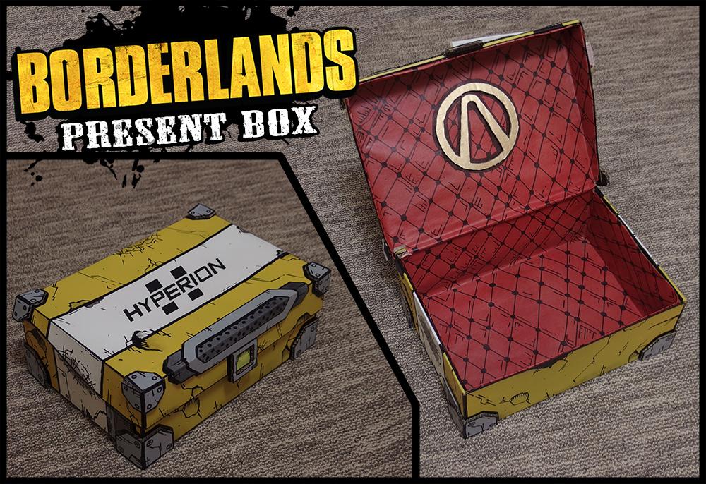 Borderlands present box complete by the lander on - Borderlands 3 box art wallpaper ...