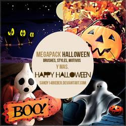 MEGAPACK Especial De Halloween by sandy14bieber