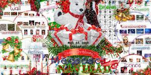 +MEGAPACK DE NAVIDAD|Merry Christmas|.