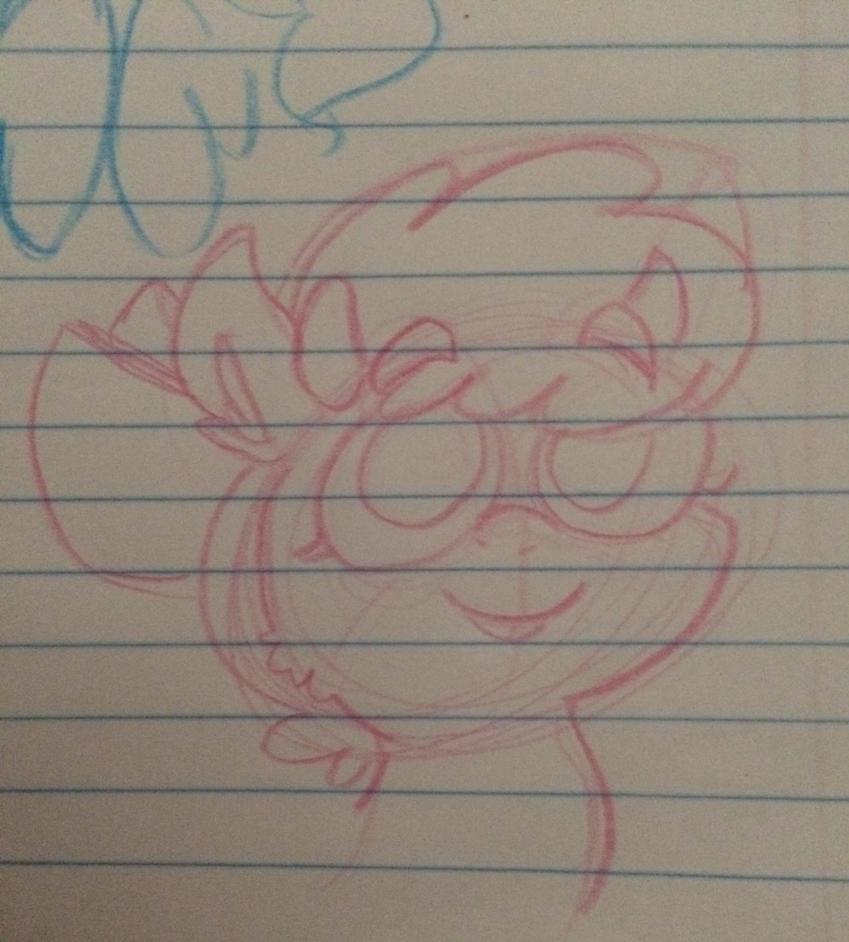 little Lacey sketch by AquaDragonDavanin