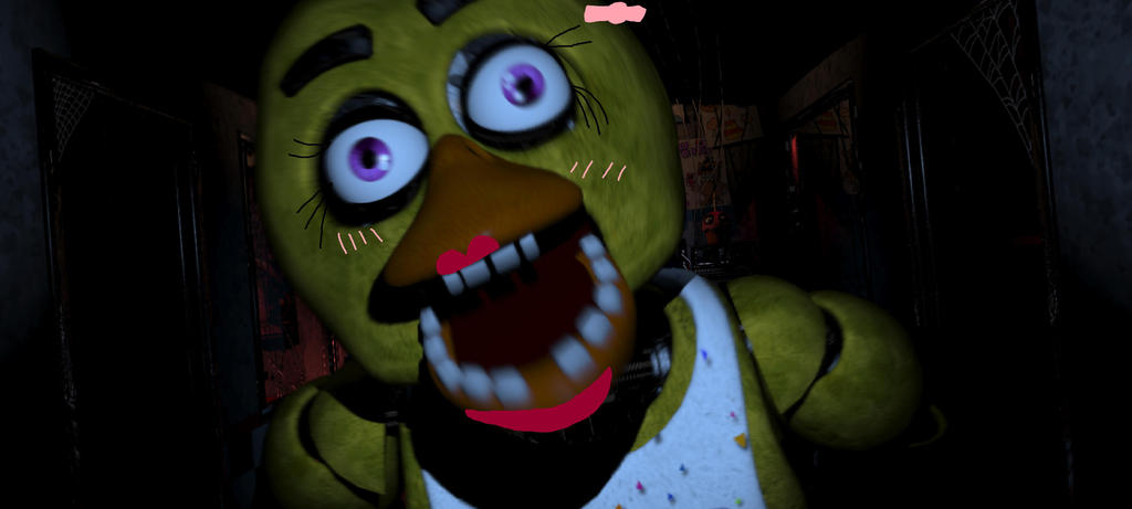 Chica the girly girl five nights at freddy s by tornadoetwist on