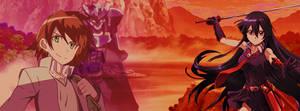 Akame Ga Kill (Akame and Tatsumi)