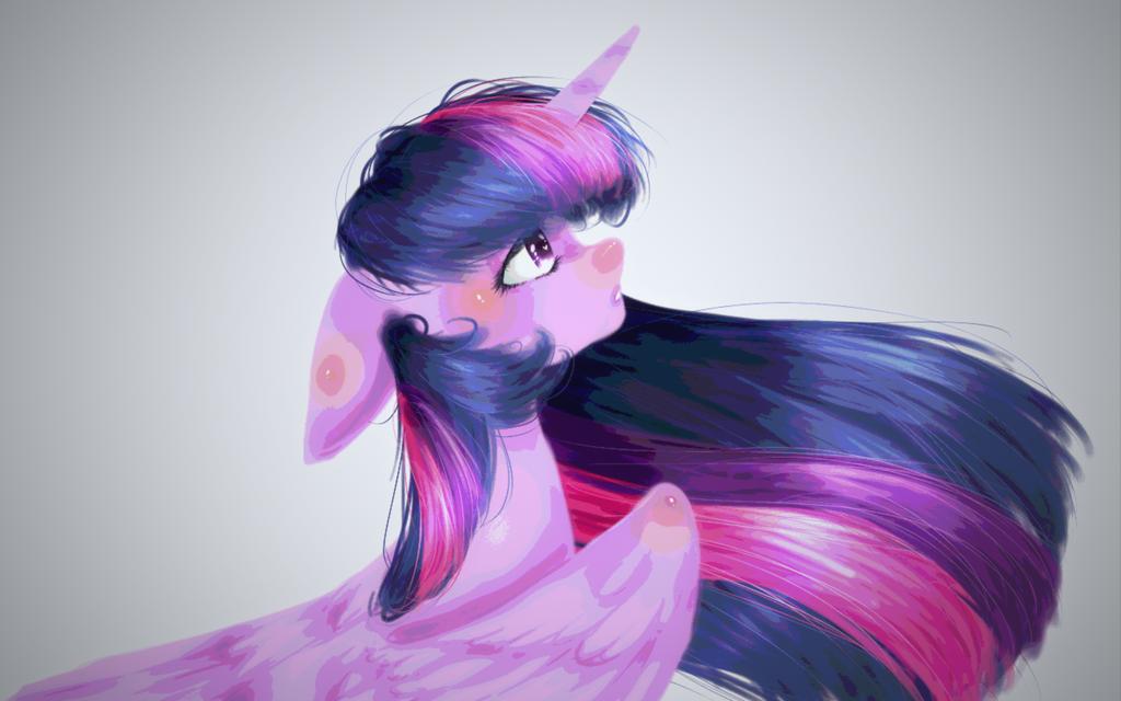 Alicorn by PlatinumPoinsetta