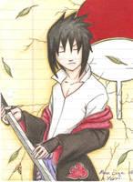 uchiha sasuke by Throne-of-the-Roses