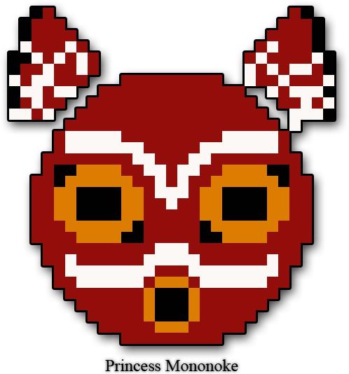 Princess Mononoke Mask By Atom8bit On Deviantart