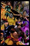X-Men - Coloured by Olooriel