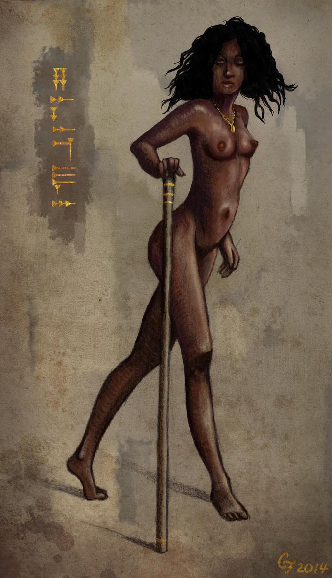 Figure Drawing by Olooriel