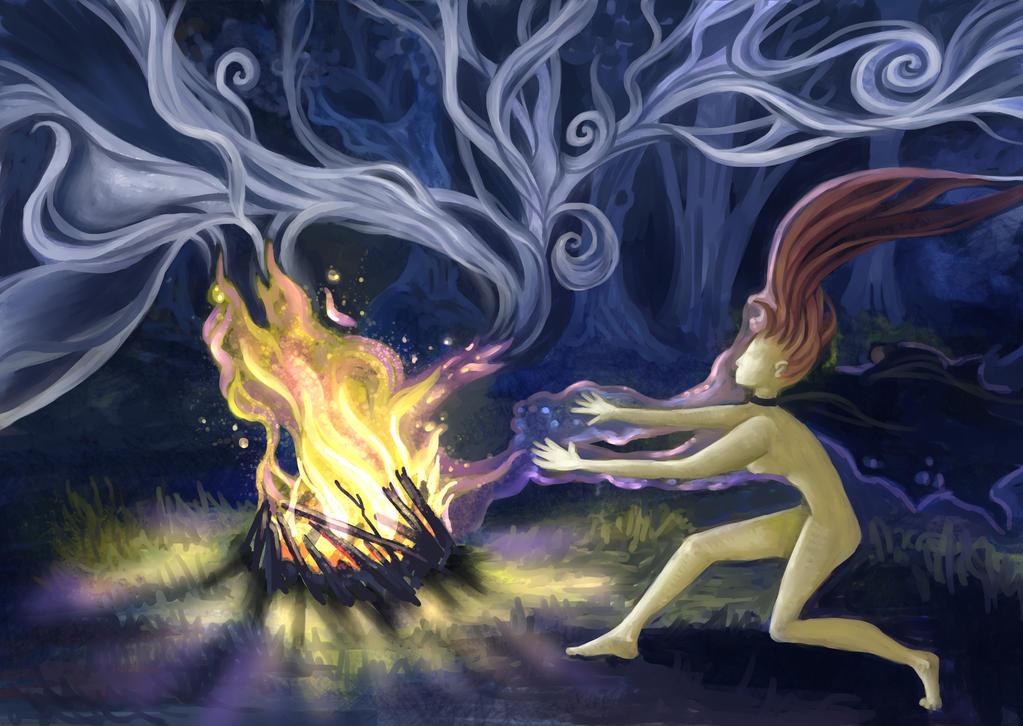 Witches' Sabbath by Olooriel