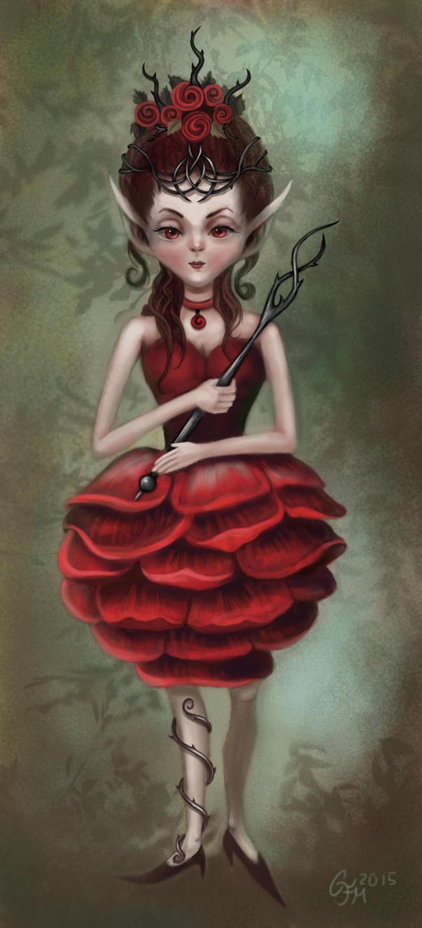 [Image: the_rose_princess_by_olooriel-d8yfzf9.jpg]