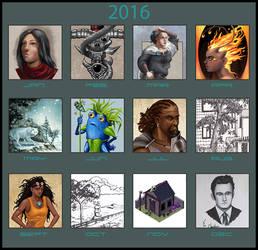 Art Summary Meme 2016 by Olooriel