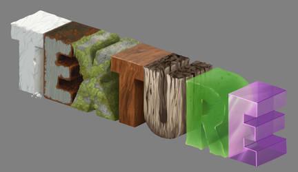 Texture Practice by Olooriel