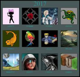 Art Summary Meme 2017 by Olooriel
