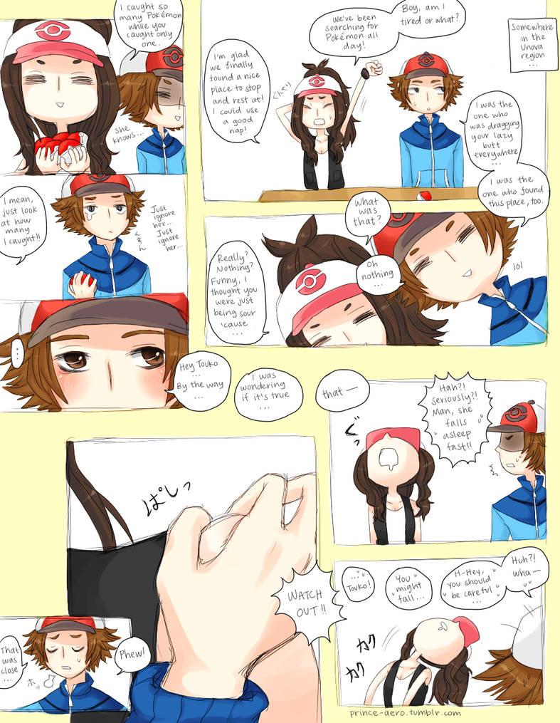 Funny Pokemon Black And White Comics chessshipping comic: pt. 1bajiruru on deviantart