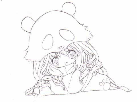 Panda by MopNinja