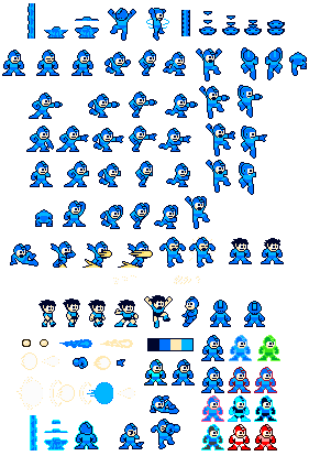 nes color like gb megaman sprites by icepony64 on deviantart