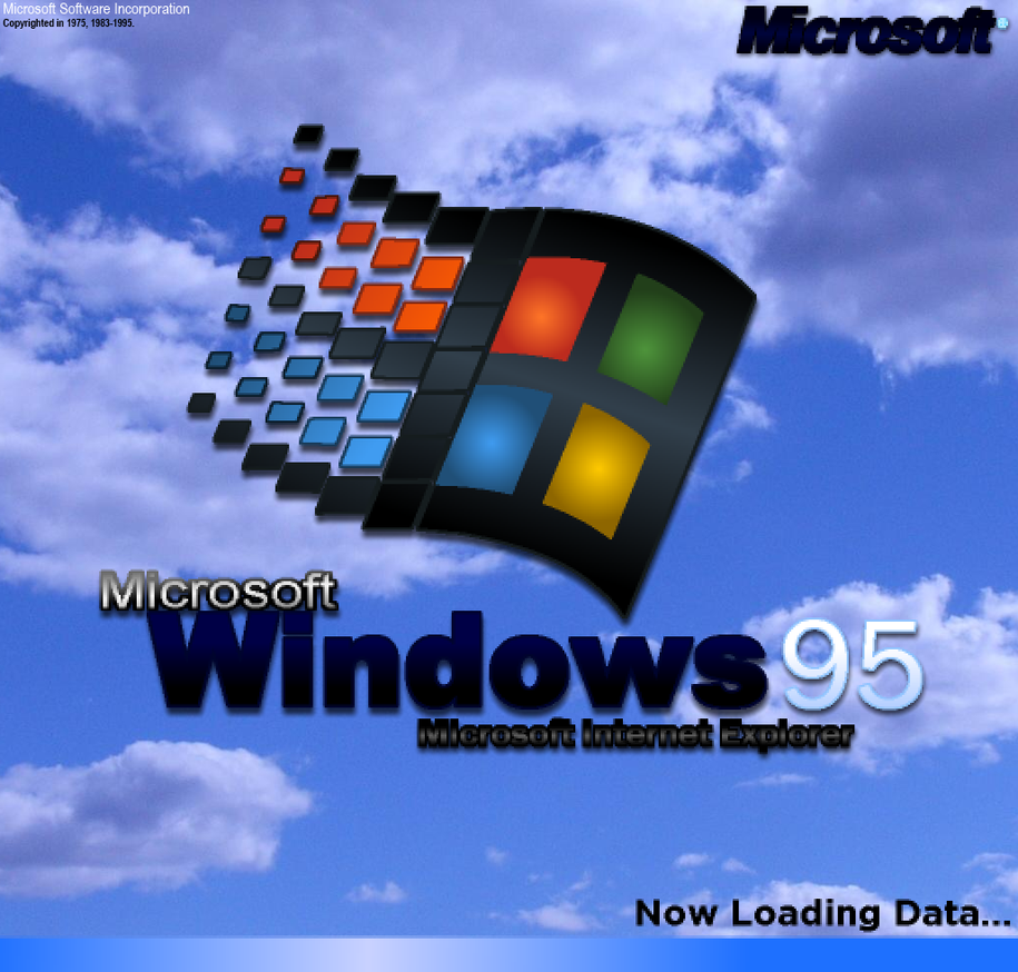 Windows 95 logo remade my own ...