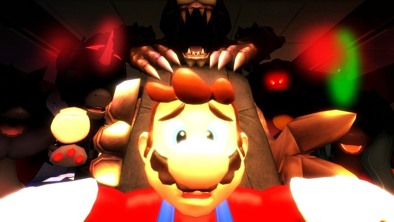 5 Nights With Mario By Icepony64 On Deviantart