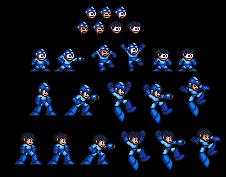 Unseen MMX Classic Megaman sprites by IceLucario20xx