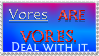 Vore support stamp by IcePony64