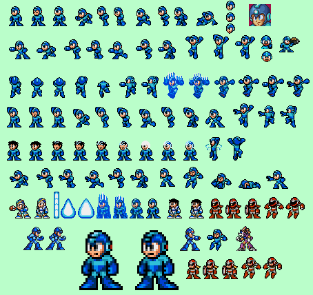 megaman sprites wwwpixsharkcom images galleries with