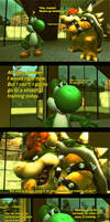 I will wait for you - Bowser hates being alone by IceLucario20xx