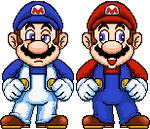 SMG4 and Derpy Mario