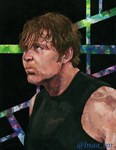 Dean Ambrose Painting