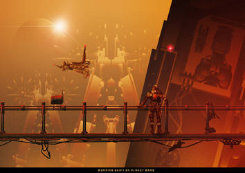Morning shift on planet Mars by mosquito77