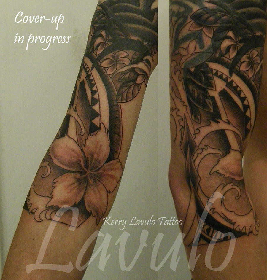 cover up tattoo surfer theme by kerrylavulo on deviantart. Black Bedroom Furniture Sets. Home Design Ideas