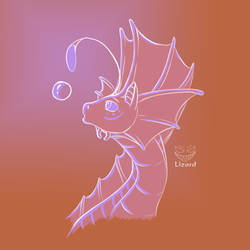 Asidrit the Bubble Dragon