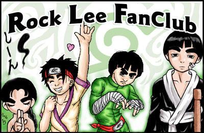 Rock Lee Fan Club by rockleefanclub
