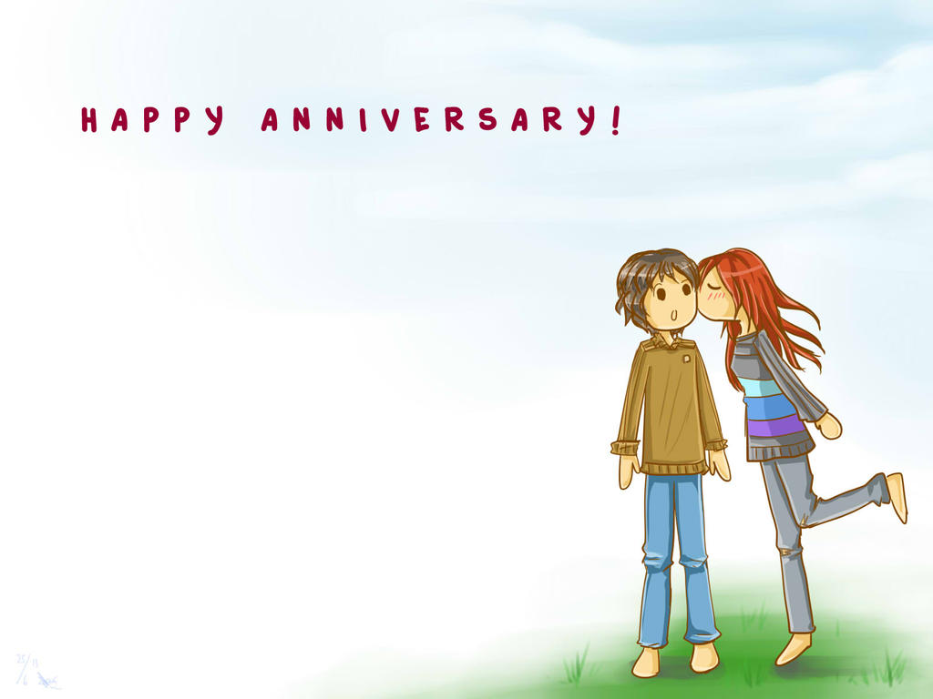 Gift happy anniversary by chronica on deviantart gift happy anniversary by chronica voltagebd Choice Image