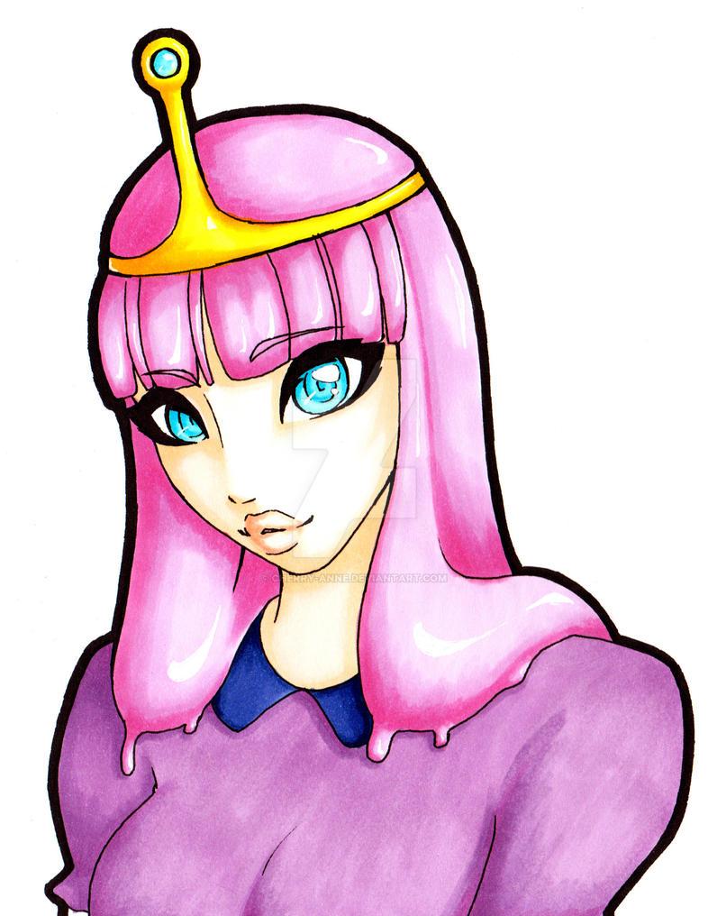 Princess Bubblegum by Cherry-Anne
