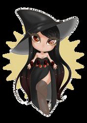Zodiac Witch - Capricorn by Cherry-Anne