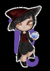 Zodiac Witch - Aquarius by Cherry-Anne