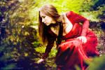 Elf princess in a wood