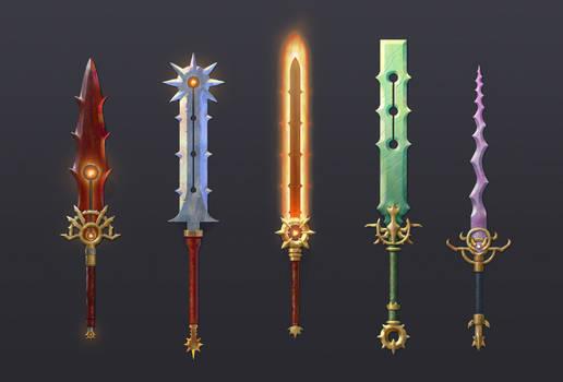 Swords swords swords