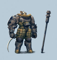 Mouse warrior for CDC