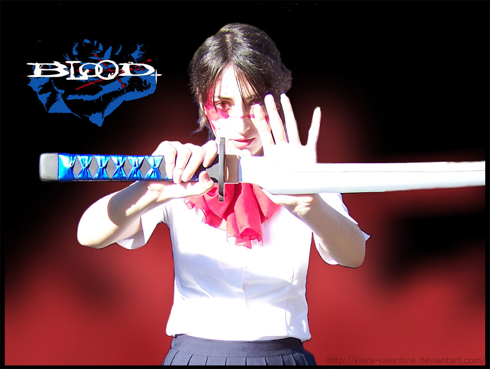 Blood+  - Saya - by Kiara-Valentine