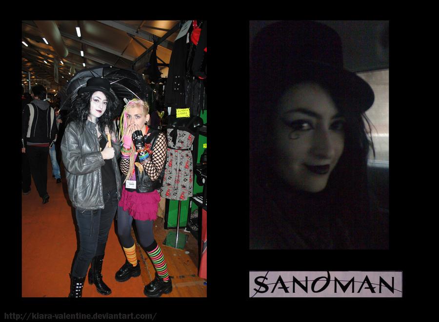 Death Sandman Cosplay Lucca Comics 2010 Delirio cosplay strega artemisia goth